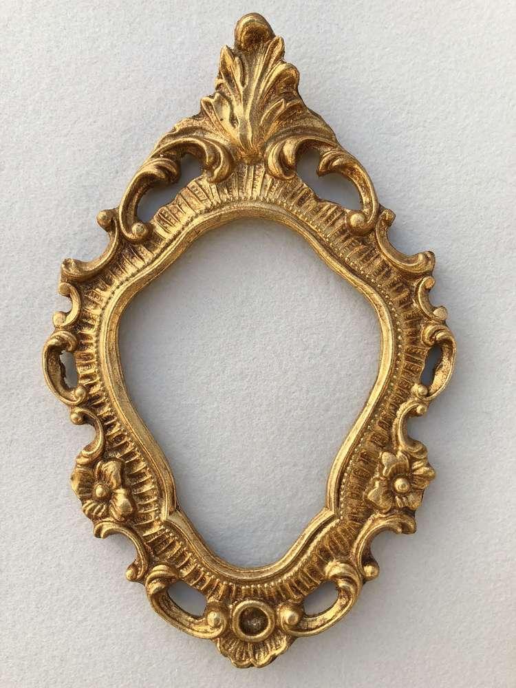 echtvergoldeter Florentiner Rahmen f. Klosterarbeit ❖ Online Shop